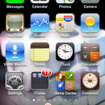 iOS 4.2.1 Home Screen