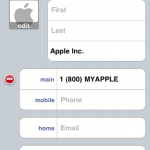 Contact in iOS 4.2 with Text-Tone option