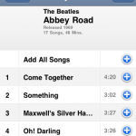 Choosing from Abbey Road