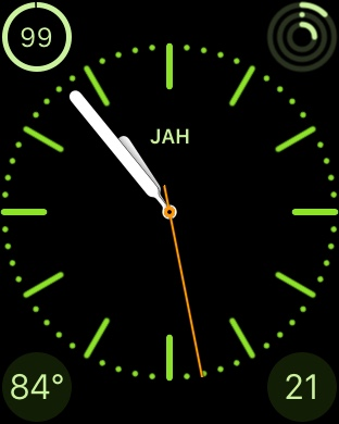 Apple Watch color face