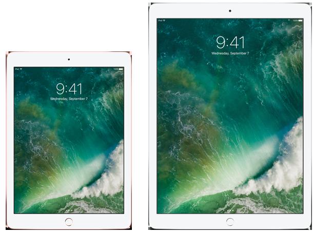 Apple's two iPad Pro models